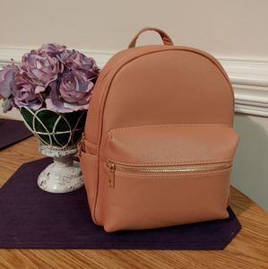 POPPY Fashion Faux Leather Backpack